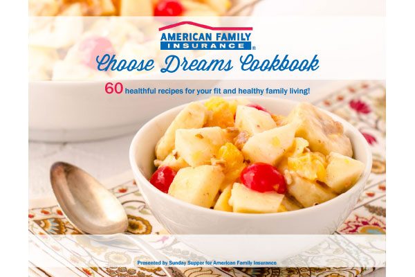 eCookbook for Sunday Supper and American Family Insurance
